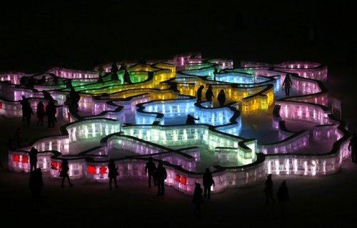 31-ый Международный фестиваль льда и снега в Харбине (21 фото)