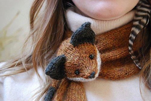 Креативные шарфы (25 фото)