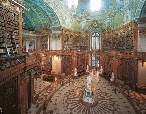 Самые величественные библиотеки со всего мира (30 фото)