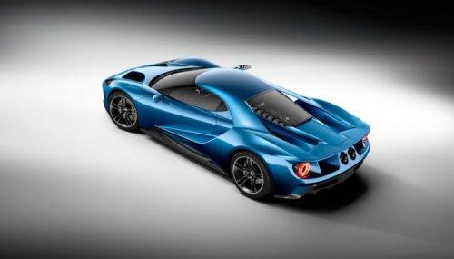 2017 Ford GT – суперкар с самым мощным двигателем от Ford (8 фото)
