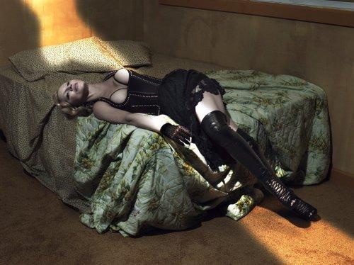 Мадонна в откровенной фотосессии для журнала Interview (11 фото)