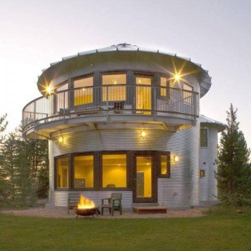 Фотографии, доказывающие, что дом можно построить из чего угодно (13 фото)