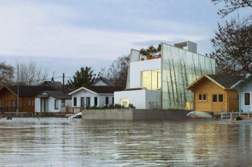Плавающие дома от Carl Turner Architects  (4 фото)