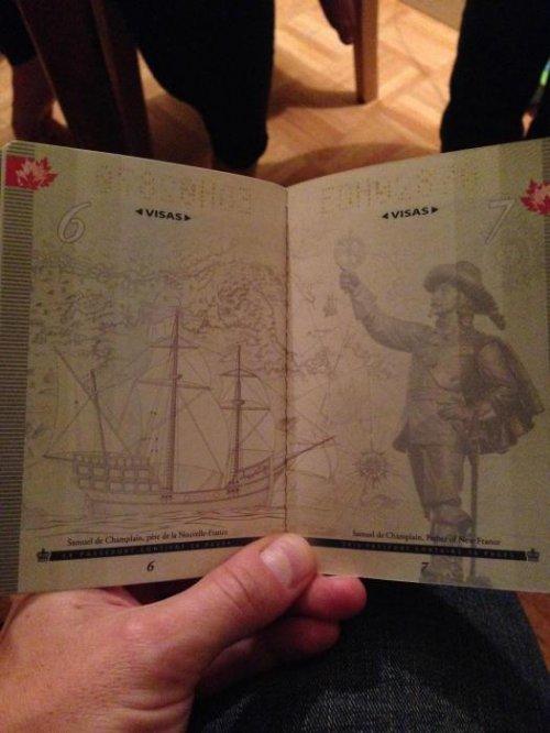 Новый канадский паспорт в ультрафиолете (16 фото)