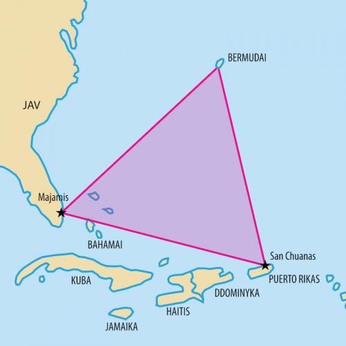 Топ-11: Самые интересные теории о Бермудском треугольнике