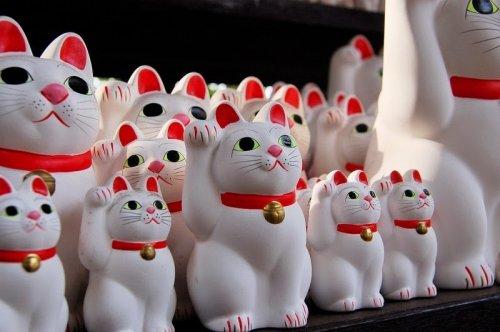 Готокудзи: Храм манящих котов (10 фото)