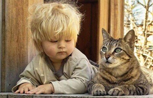 Дети, которые мечтают быть животными (25 фото)
