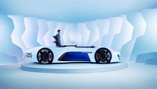 Спорткар будущего Alpine Vision GT (9 фото)
