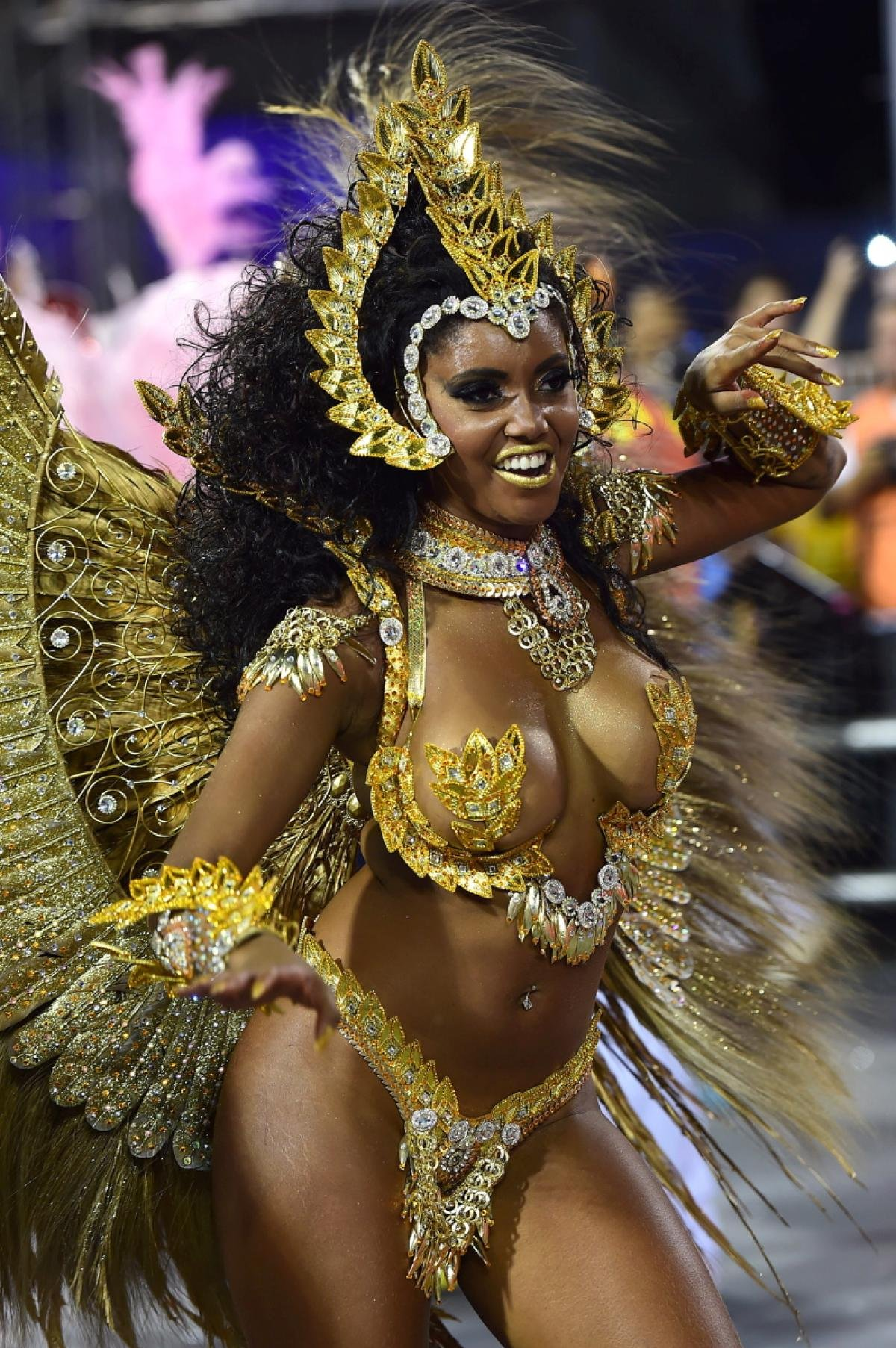 Сексуальные танцы на карнавале в рио видео