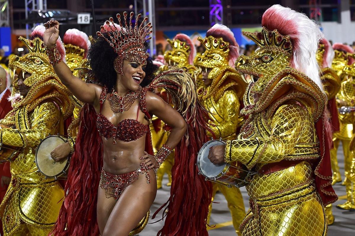 Бразильский карнавал 2014! +18