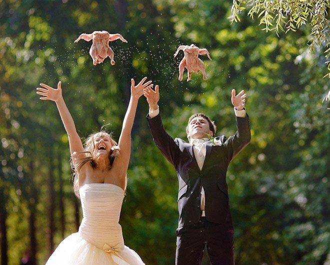 Оригинальные веселые конкурсы для свадьбы