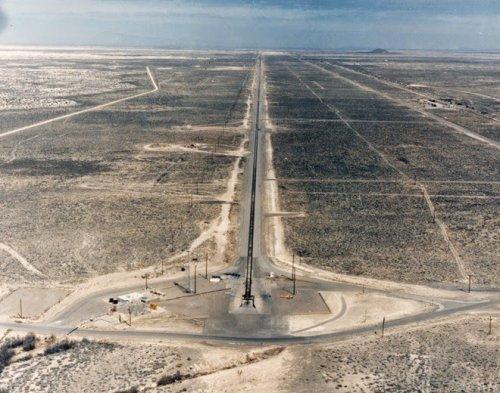 Максимальный скоростной предел в мире на базе ВВС США Холломан (9 фото)
