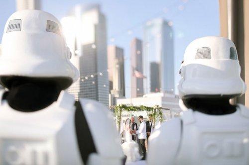 Свадьба в стиле Star Wars (15 фото)