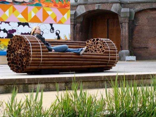 Необычные скамейки с оригинальным дизайном (20 фото)