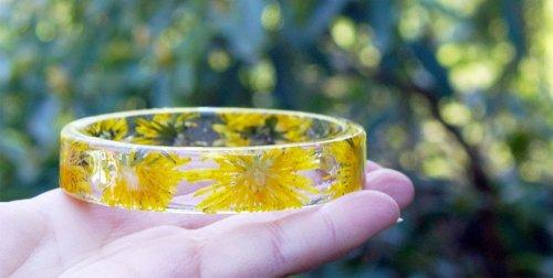 Цветочные браслеты от Сары Смит (10 фото)