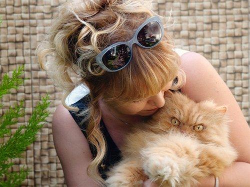 Коты, чей смертоносный взгляд способен поглотить вашу душу (17 фото)