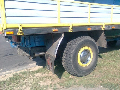 Белорусский рестайлинг грузовика (5 фото)