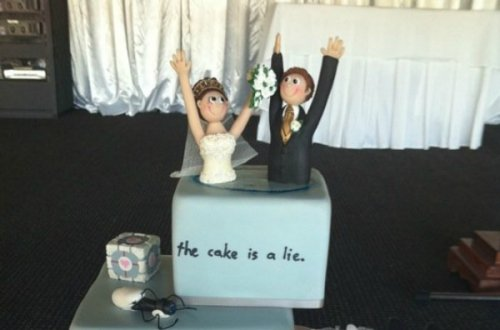 Свадебные торты, вдохновлённые видеоиграми (10 фото)