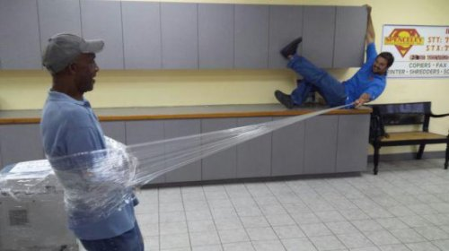 Рабочие приколы и казусы (23 фото)