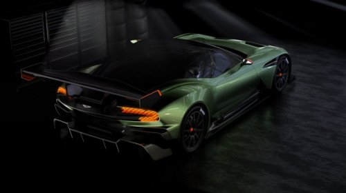 Гиперкар Aston Martin Vulkan мощностью 800 л.с. (4 фото)