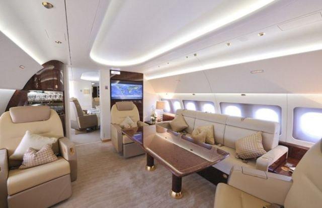 самолета фото внутри