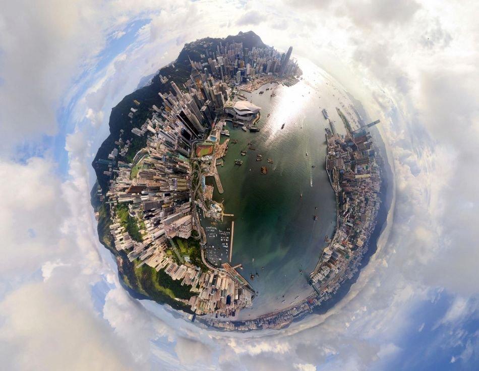 Как сделать планету из панорамы