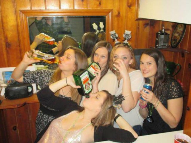 Пьяная вечеринка взрослых