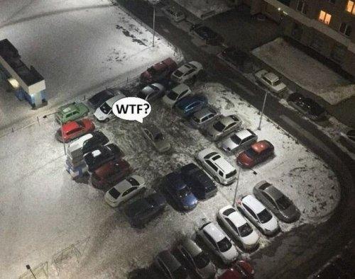 Автомобильный юмор в фотоприколах (24 шт)