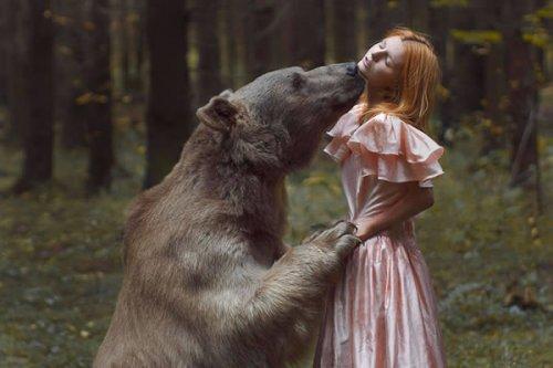 Реальные фотографии с животными, которые выглядят как фотошоп (12 шт)