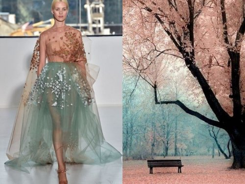 Симбиоз моды и природы в фотографиях Лилии Худяковой (20 фото)