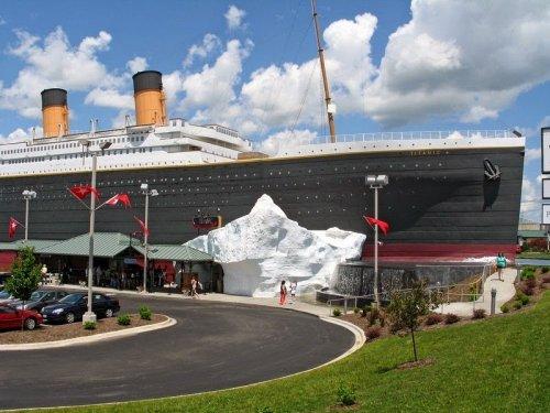 Музей Титаника в Брэнсоне (16 фото)