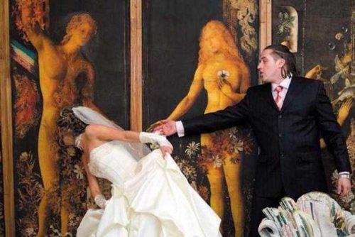 Свадебные фотографии, которые можно было не делать (25 фото)