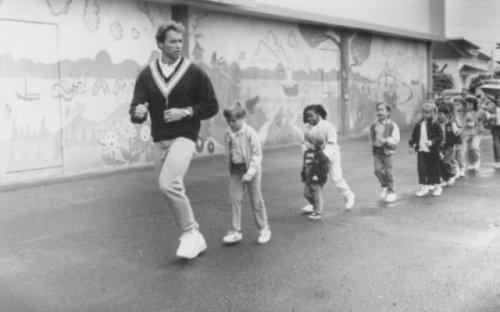 Фотографии с молодым Арнольдом Шварценеггером (29 фото)