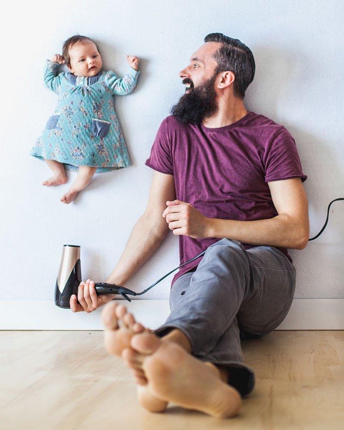 все прикольные фото с детьми в домашних условиях или уменьшить