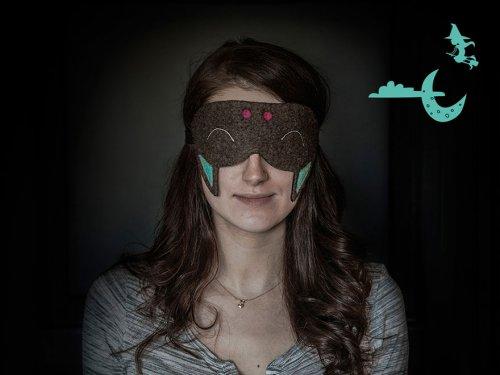 Забавные маски для сна в виде животных (10 фото)