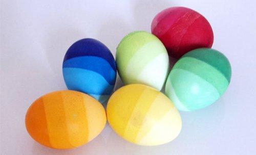 Как украсить яйца на Пасху (32 фото)