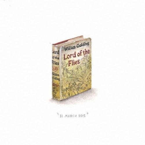Крошечные рисунки Лорейн Лутс (14 фото)