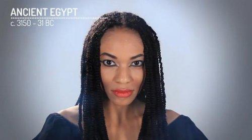Женский макияж сквозь историю