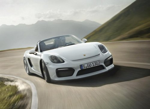 Porsche Boxster Spyder возвращается обновлённым (14 фото)