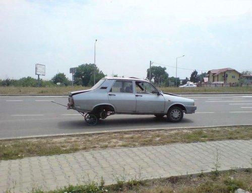 Приколы на дорогах (26 фото)