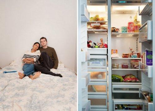 """Фотопроект Стефани де Руж """"В твоём холодильнике"""" (15 фото)"""