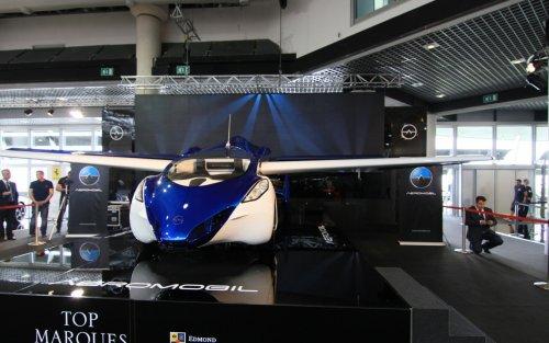 Первый в мире аэромобиль представлен на Top Marques Monaco (5 фото + видео)