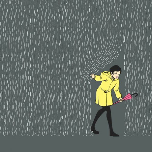 Иллюстрации из проекта Flying Mouse 365 (29 шт)