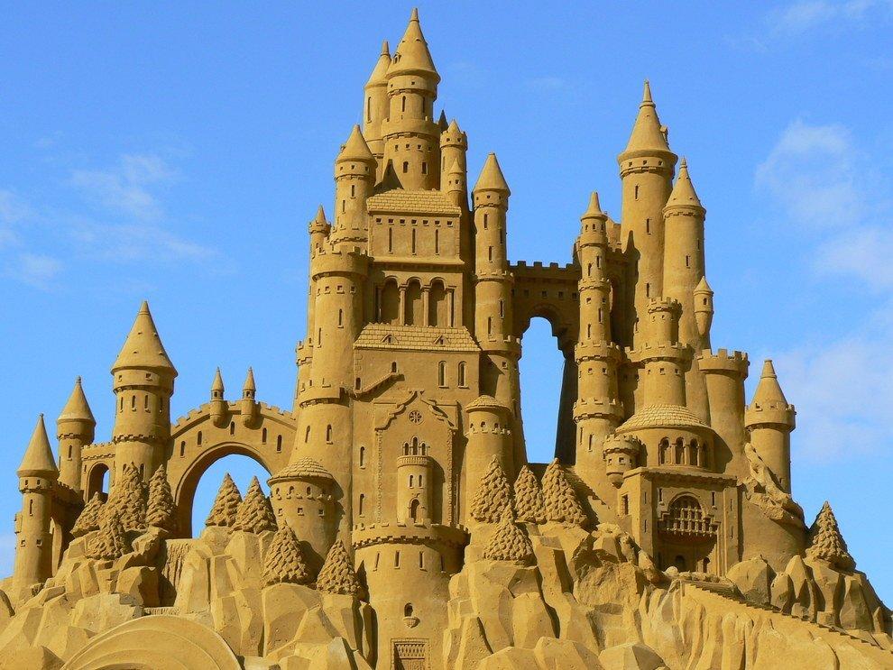 Картинки песочного замка