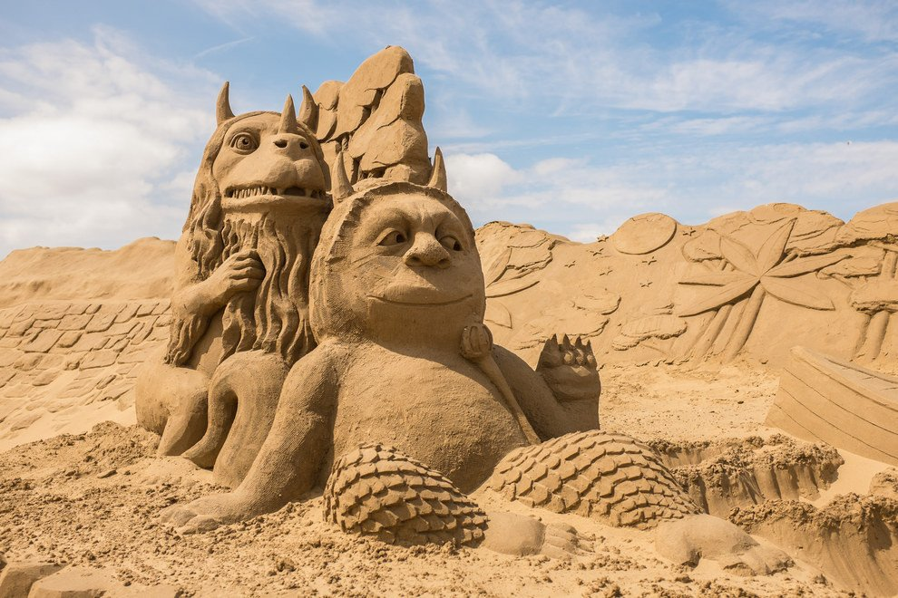 песочные картинки из песка можете бесплатно