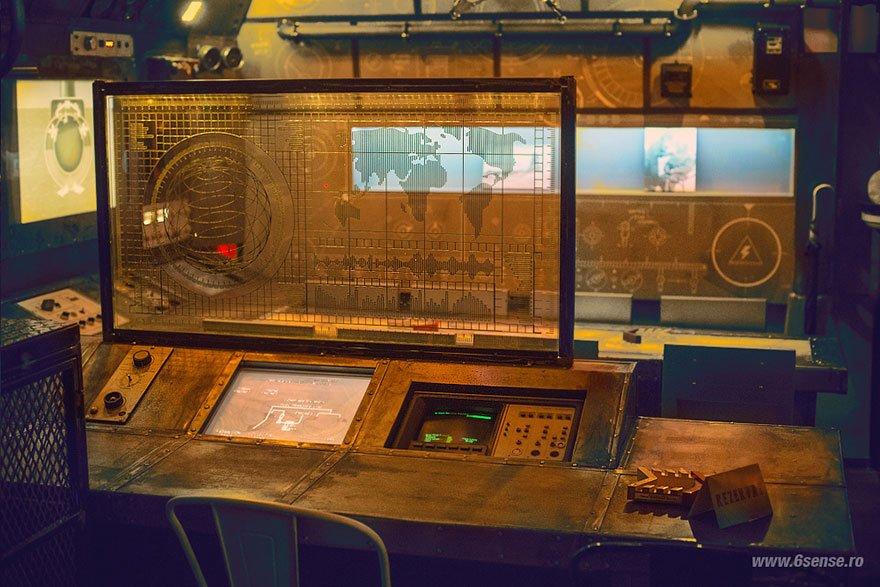 интерьеры подводных лодок фото