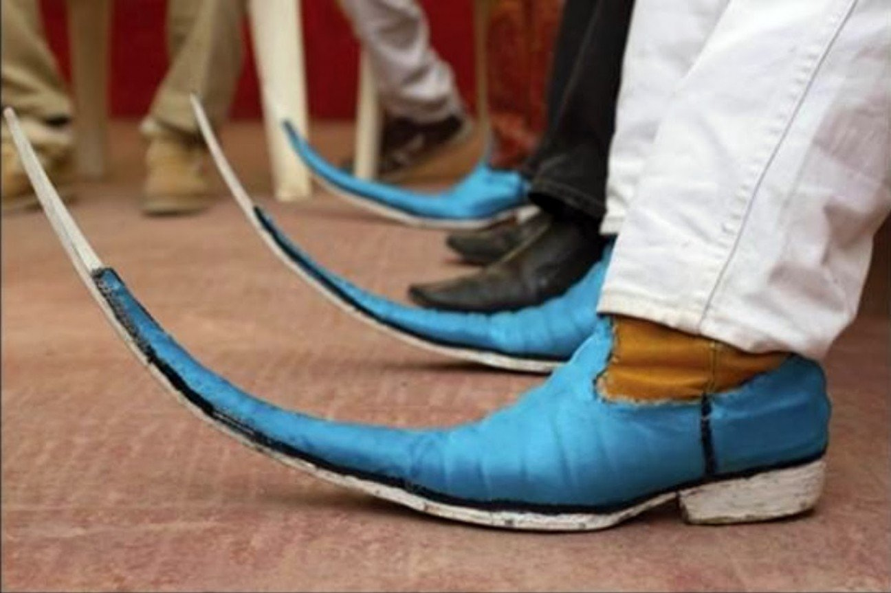 Членом в туфли 2 фотография