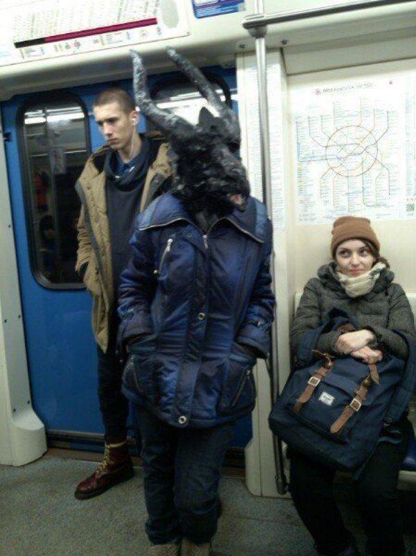 Картинки, метро прикол картинка