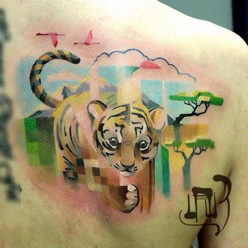 Татуировки Лёши Лауза (15 фото)