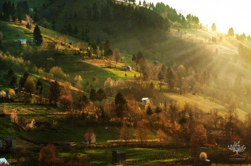 Рассветы и закаты в Трансильвании (12 фото)